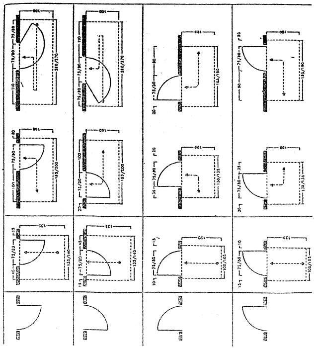 38 1 4 d m 14 giugno 1989 n 236 prescrizioni tecniche necessarie a garantire l - Schemi bagni disabili ...